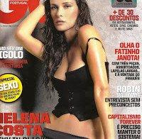 Helena Costa podre de boa (GQ 2009)