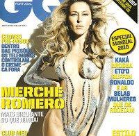 Merche Romero praticamente nua (GQ 2010)