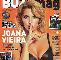 Joana Vieira de lingerie (Buzz Mag 2015)