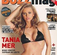 Tania Mer despida na BUZZ Mag (2015)