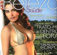 O corpo de Liliana Santos em 2009 (biquini)