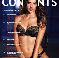 Alessandra Ambrosio de lingerie em revista