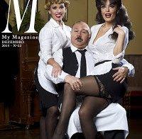 Melânia Gomes destaca-se com meias de renda (M My Magazine)