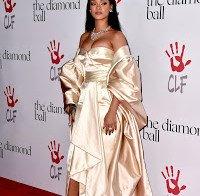 Algumas das famosas na festa de Rihanna