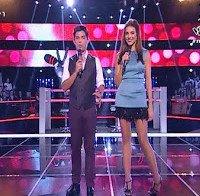 Catarina Furtado mostra pernas (The Voice Portugal 2015)