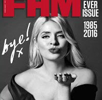 Holly Willoughby é capa na última FHM