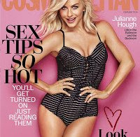 Julianne Hough na Cosmopolitan