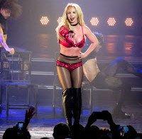 Britney Spears actua em Las Vegas