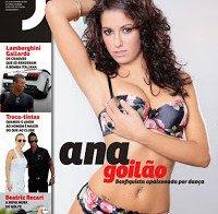 Ana Goilão despida (Revista J em 2010)