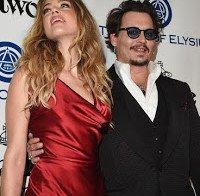 Amber Heard na gala Heaven em Culver City