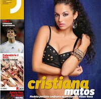 Cristiana Matos despida na Revista J (2010)