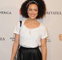 Nathalie Emmanuel nos BAFTA em Los Angeles
