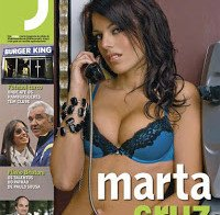 Marta Cruz despida na Revista J (2008)