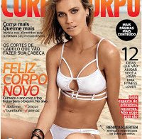 O corpo de Renata Kuerten (modelo e apresentadora brasileira)