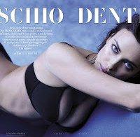 Irina Shayk de lingerie (Março 2016)