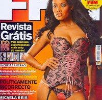 Micaela Reis despida (Miss Angola na FHM 2008)