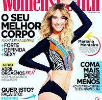 Mariana Monteiro de biquini (Women's Health Abril 2016)