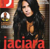 Jaciara sensual na Revista J 2006 (ex-mulher de Deco)