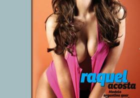 Raquel Acosta ousada (Revista J)