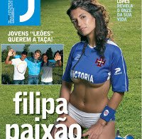 Filipa Paixão despida na Revista J (2007)