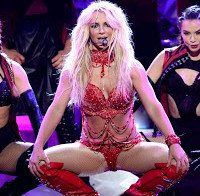 Britney Spears seminua nos Billboard Music Awards
