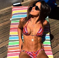 Corpo de Carolina Patrocínio de biquini 2016 (Instagram)