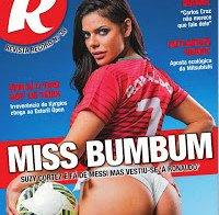 Suzy Cortez despida na Revista R (Miss Bumbum)