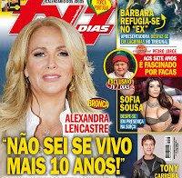 Alexandra Lencastre na capa da TV7 Dias