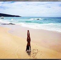 Rita Pereira fez topless em praia alentejana