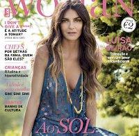Mamilo de Luísa Beirão na capa da LuxWoman (Junho 2016)