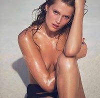 Toni Garrn posa para a Elle francesa