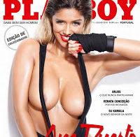 Ana Duarte nua na Playboy (mulher de Ricardinho)