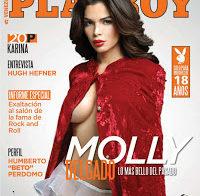 Molly Delgado nua (Playboy Venezuela)