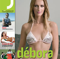 Débora Montenegro despida (Revista J 2008)