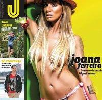 Joana Ferreira despida na Revista J