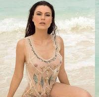 Natália Subtil nua (Playboy México 2016)