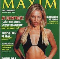 Alexandra Fernandes despida (Maxim 2001)