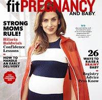 """Hilaria Baldwin: """"estarmos grávidas não significa que estamos doentes"""""""