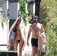 Irina Shayk de férias em Itália