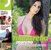 Macarena Moreno despida (Revista J 2010)