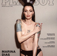 Marina Dias nua (Playboy Brasil 2016)