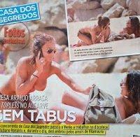 Recordando as mamas de Teresa Araújo topless (Casa dos Segredos 2012)