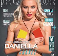 Daniella Chávez nua na Playboy
