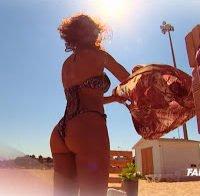 O corpo incrível de Rita Frazão de biquini (FamaShow 2016)