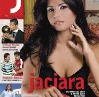 Jaciara novamente despida na Revista J (2008)