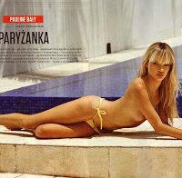Pauline Baly nua (Playboy Polónia)