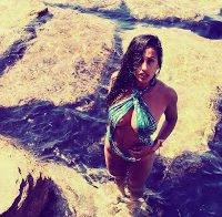 Rita Pereira abusada em biquini (férias 2016)