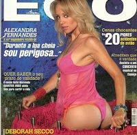 Alexandra Fernandes despida (Revista Ego 2006)