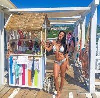 O corpo de sonho de Diana Monteiro em biquini (FamaShow 2016)