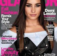 Demi Lovato capa da Glamour